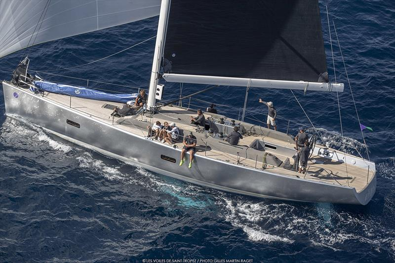 For the IMA's Mediterranean Maxi Inshore Challenge, the contest went to the wire between Wallyño and Lorina 1895. photo copyright Gilles Martin-Raget / Les Voiles de Saint-Tropez taken at  and featuring the Maxi class