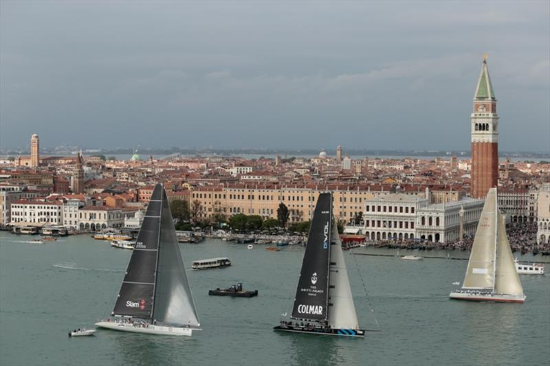 Way of Life edges ahead of Golfo di Trieste on the first leg. - photo © Matteo Bertolin