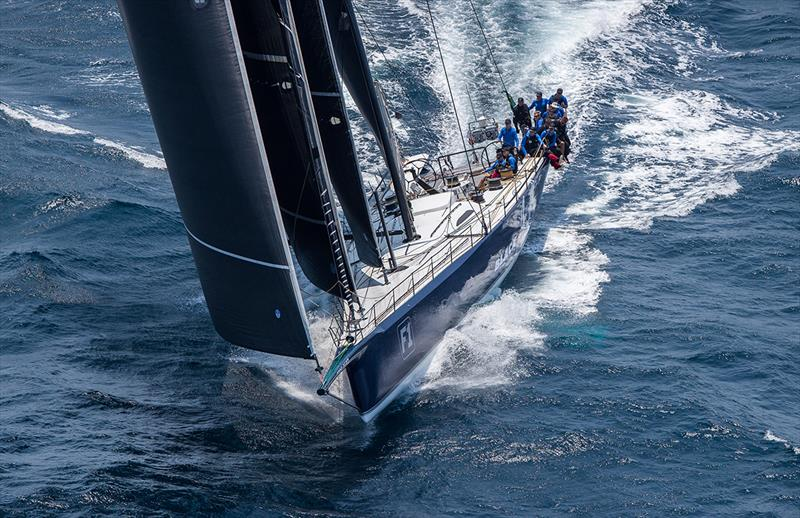 Black Jack powering downwind - photo © Crosbie Lorimer