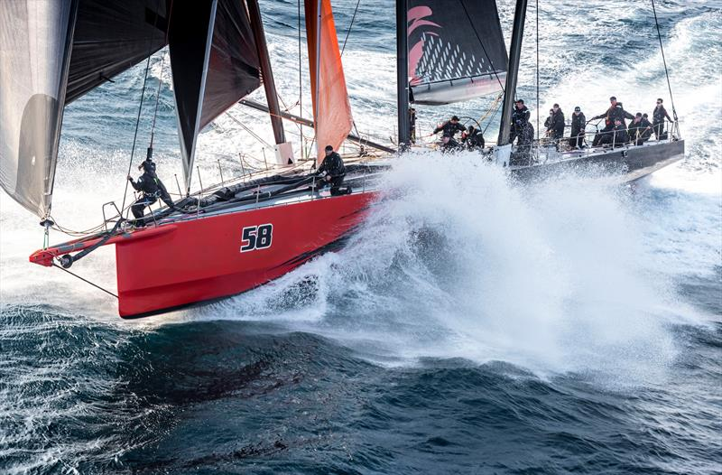Comanche - Line Honours - 2019 Rolex Sydney Hobart Yacht Race - December 2019 - photo © Kurt Arrigo / Rolex