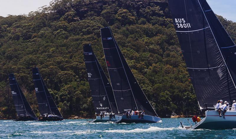 Fleet against the national park during MC38 2017-18 Summer Series Act 2 - photo © Tilly Lock