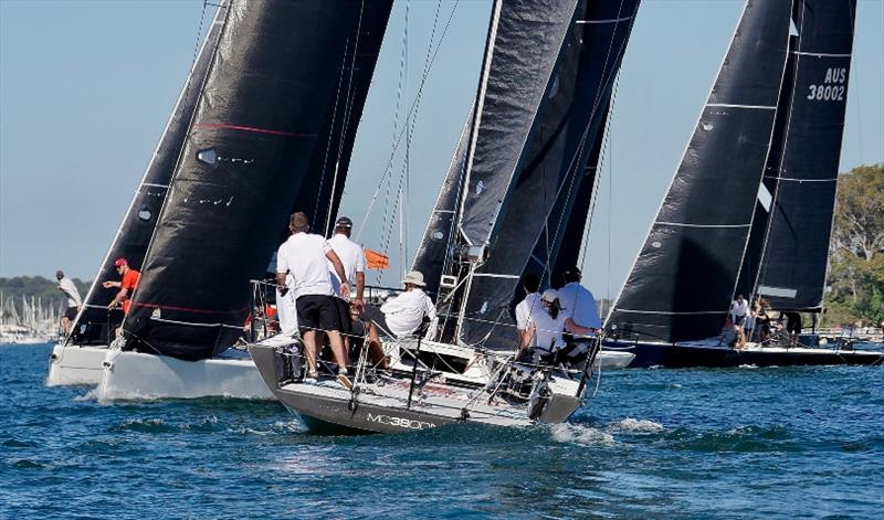 MC38 Act 1 start on Pittwater - photo © Tilly Lock Media