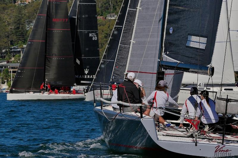 Vino and MC38 fleet Act 1 Pittwater - photo © Tilly Lock Media