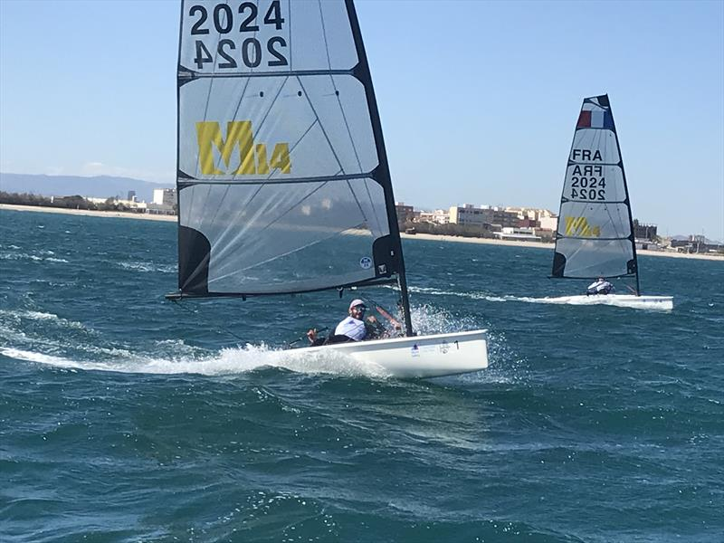 Melges 14s at the Olympic One Person Dinghy Sea Trials in Valencia - photo © Melges