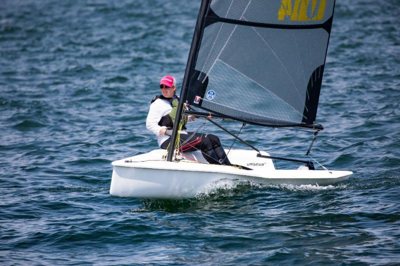 Top Female, Peyton Ankers - 2018 Melges 14 U.S. National Championship - photo © Melges 14