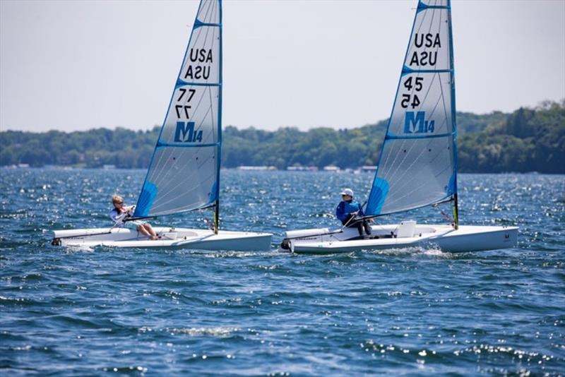 Day 2 - Melges 14 US National Championship - photo © Hannah Noll