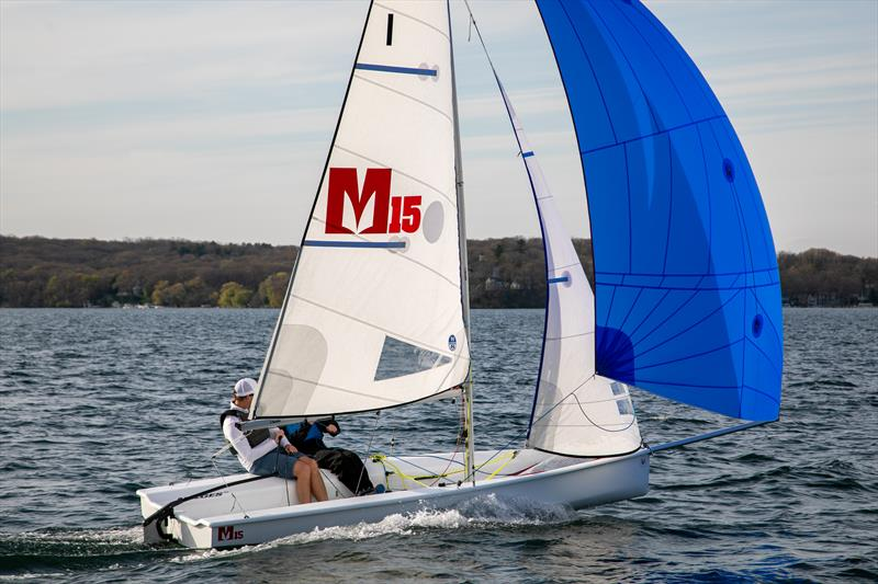 The new Melges 15 struts her stuff on the waters of Wisconsin's Lake Geneva - photo © Image courtesy of Melges Performance Sailboats