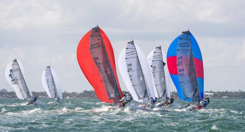2017-2018 Melges 20 Miami Winter Series - Day 2 photo copyright IM20CA taken at Coconut Grove Sailing Club and featuring the Melges 20 class