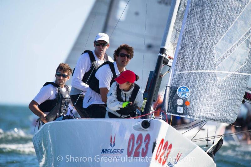 2017-2018 Melges 20 Miami Winter Series - Achille Onorato, MASCALZONE LATINO, JR. photo copyright Sharon Green / ultimatesailing.com taken at Coconut Grove Sailing Club and featuring the Melges 20 class