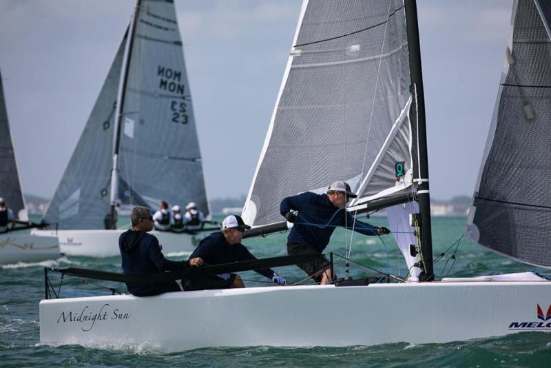2017-18 Melges 20 Miami Winter Series - Alexis Michas, MIDNIGHT SUN photo copyright International Melges 20 Class Association taken at Coconut Grove Sailing Club and featuring the Melges 20 class