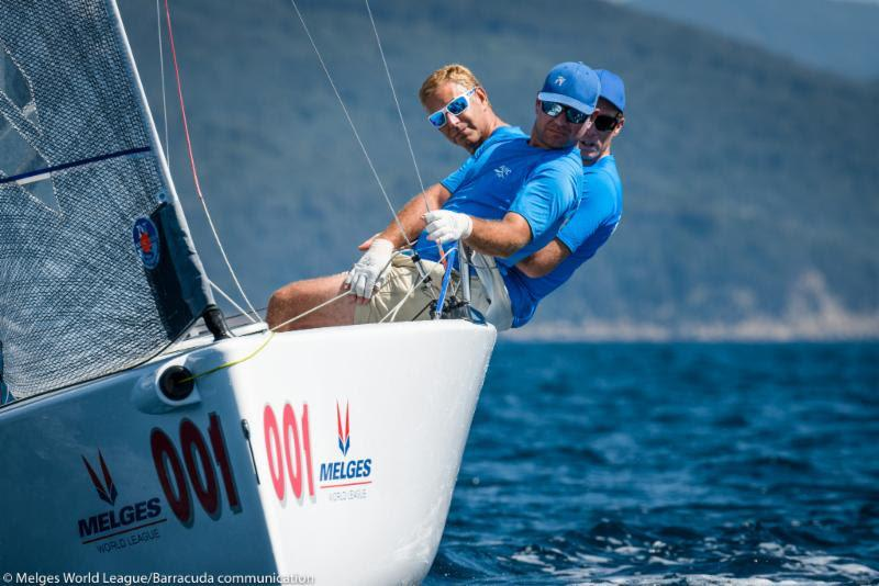 2018 Melges 20 World League, Scarlino Champion Drew Freides, PACIFIC YANKEE - photo © Melges World League / Barracuda Communication