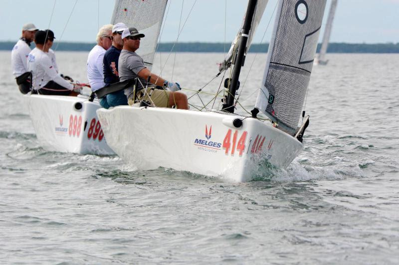 2018-19 Melges 20 Miami Winter Series, Event No. 1 - Rob Wilber, CINGHIALE - photo © IM20CA