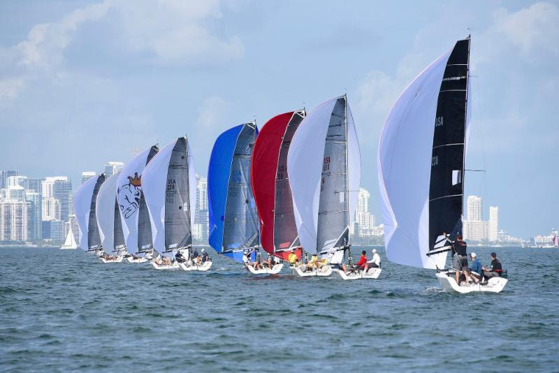 2018-19 Melges 20 Miami Winter Series, Event No. 1 - photo © IM20CA