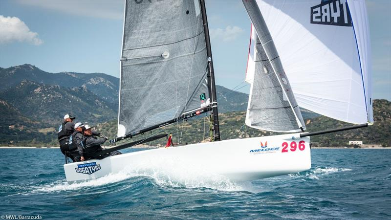 Russian Bogatyrs - 2019 Melges 20 World League - European Division: Day 1 - photo © Melges World League / Barracuda Communication