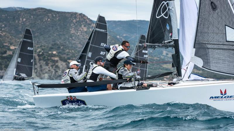 Brontolo - 2019 Melges 20 World League - European Division: Day 1 - photo © Melges World League / Barracuda Communication