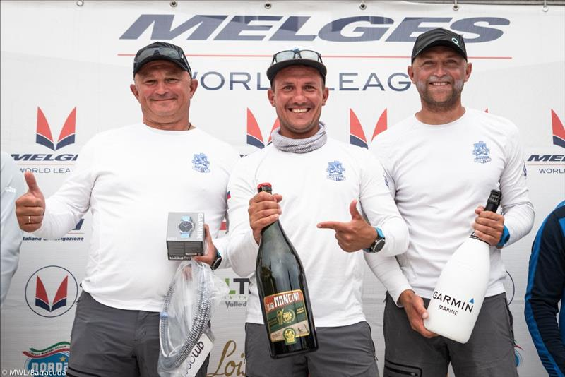 Melges 20 World League in Scarlino on 'Garmin Day' - photo © MWL / Barracuda