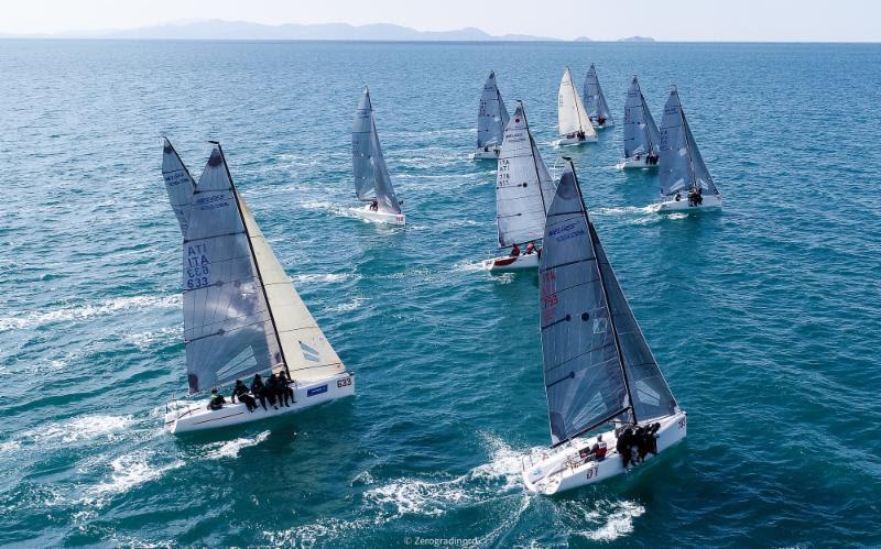 d6ae4882950f75 2018 Melges 24 European Sailing Series  A sparkling beginning for 2018  season in Punta Ala