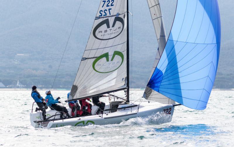 060dba13b8564a 2018 Melges 24 European Sailing Series  First event in Punta Ala goes to  Andrea Racchelli s Altea