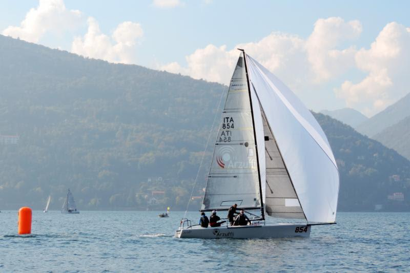 Local team of Flavio Favini on Maidollis collected three bullets and takes the lead after five races sailed - photo © Piret Salmistu