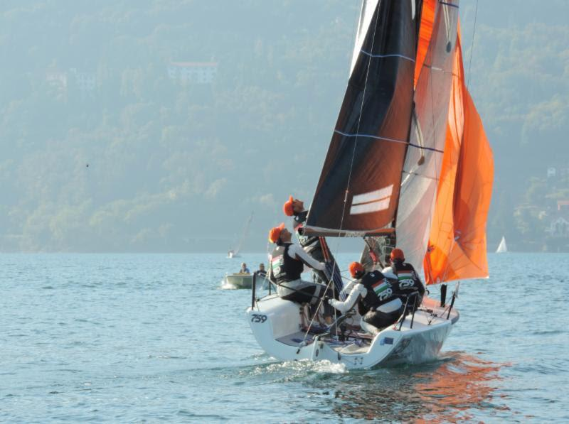 Akos Csolto's Seven-Five-Nine HUN759 was second in today's first race - photo © Piret Salmistu
