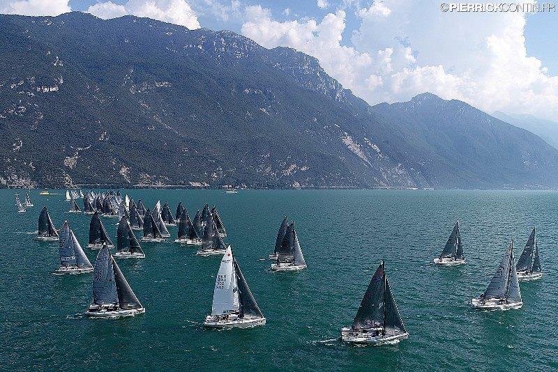 Melges 24 European Championship 2018 on Lake Garda © Pierrick Contin