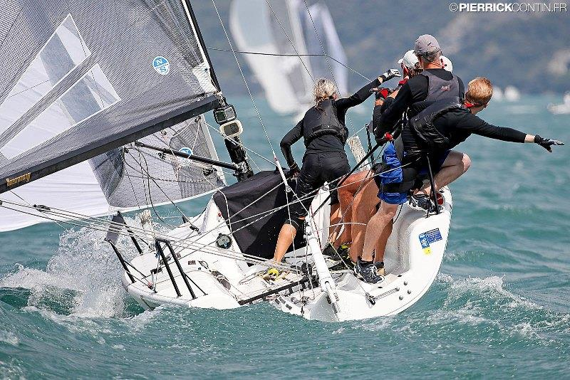 f20ab64e495a64 The winner of the first event of the 2019 Melges 24 European Sailing Series  - Lenny EST790 at the Melges 24 European Championship 2018 on Lake Garda