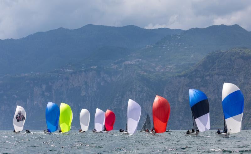 2019 Melges 24 European Sailing Series Event 2 in Malcesine, Italy - 2019 Melges 24 European Sailing Series - photo © IM24CA / Zerogradinord