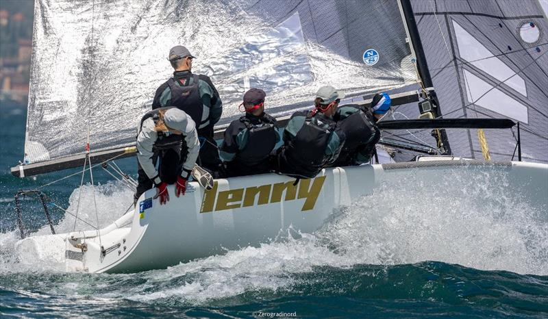 The Corinthian division sees once again Tõnu Tõniste's Lenny EST790 achieving the success. - Melges 24 European Sailing Series at Riva del Garda, Italy - photo © Mauro Melandri / Zerogradinord