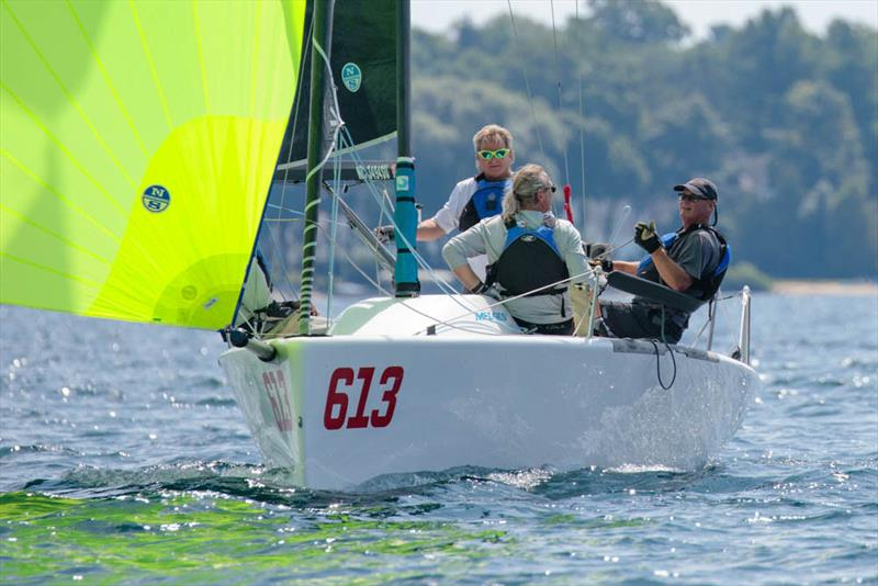 More than a Class stalwart, Mike Dow' s Flying Toaster had a great top ten day - a big bullet in Race Three put him in second overall and Top Corinthian - 2019 Melges 24 North American Championship - photo © Bill Crawford - Harbor Pictures Company