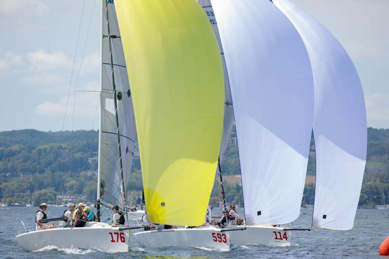 2019 Melges 24 North American Championship fleet racing - photo © Bill Crawford - Harbor Pictures Company