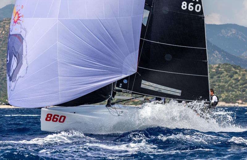 Melges 24 Pre-worlds 2019 in Villasimius, Italy - Day 1