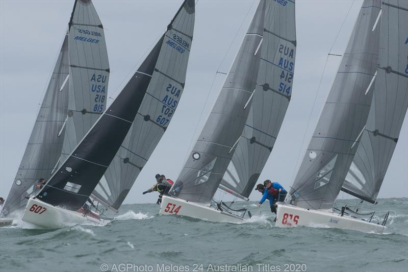 It was a windy day to finish off the 2020 Australian Melges 24 National Championships at Adelaide Sailing Club photo copyright Ally Graham taken at Adelaide Sailing Club and featuring the Melges 24 class