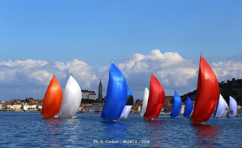 2019 Melges 24 European Sailing Series in Portoroz - photo © Andrea Carloni / IM24CA / ZGN