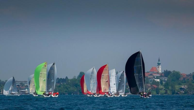 Melges 24 regatta in Kammersee on Attersee - photo © Segelclub Kammersee