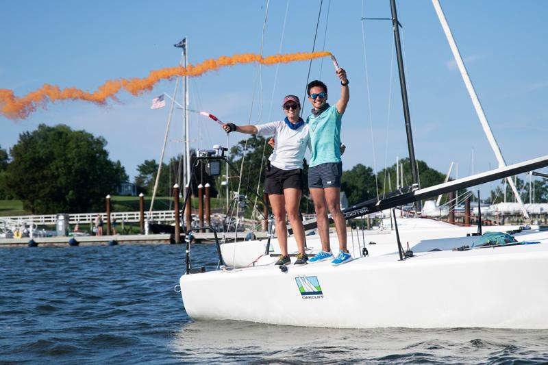 Doublehanded Offshore Race wraps up - photo © Oakcliff Sailing