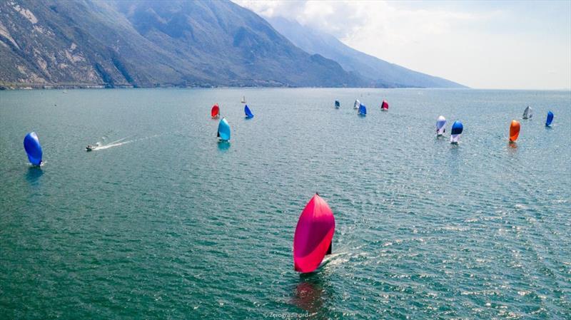 2020 Melges 24 European Sailing Series Event #1 in Torbole, Italy - photo © Zerogradinord / IM24CA