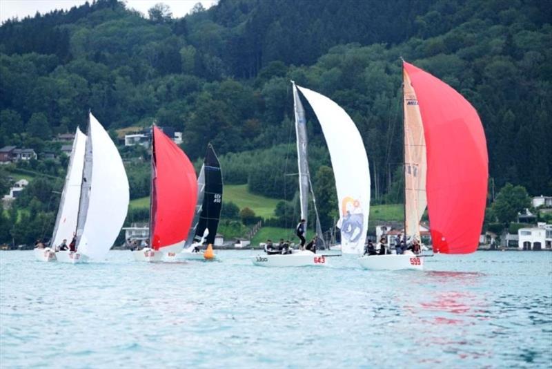 2020 Melges 24 European Sailing Series au lac Attersee