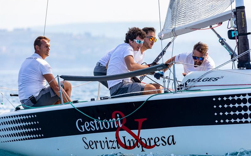 Much of IM24CA's credit goes to Davide Rapotez, the owner and helmsman of Destriero ITA579, for organizing the Melges 24 regatta in Trieste - photo © Zerogradinord / IM24CA