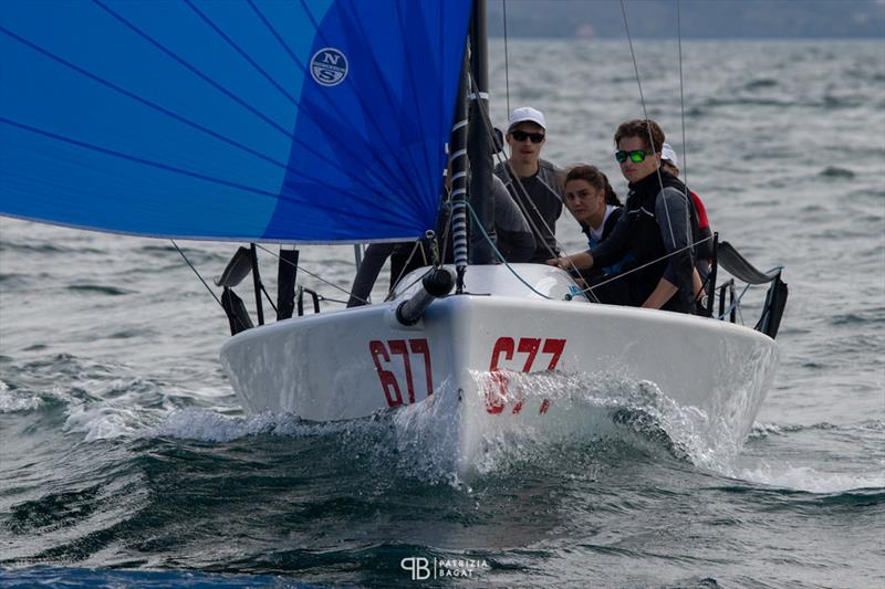 White Room GER677 of Michael Tarabochia with Luis Tarabochia at the helm is on  the second position in the overall results being now the best Corinthian team in Trieste at the final event of the 2020 Melges 24 European Sailing Series - photo © Patrizia Bagat