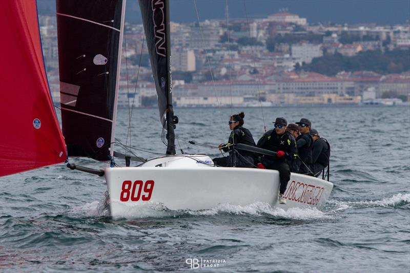 Arkanoe by Montura ITA809 of Sergio Caramel won today's only race in Trieste at the final event of the 2020 Melges 24 European Sailing Series - photo © Patrizia Bagat