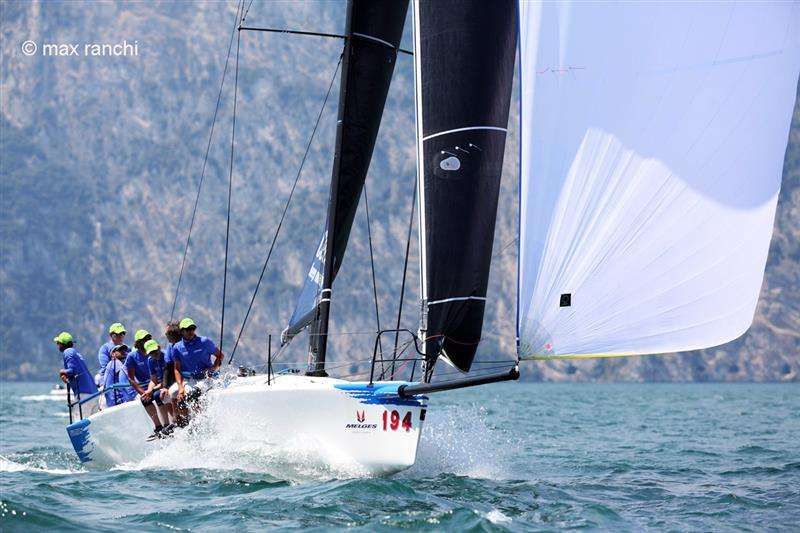 2020 Melges World League in Malcesine day 2 - photo © Max Ranchi / www.maxranchi.com
