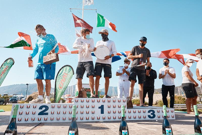 Melges 32 World Championship 2020 in Villasimius, Sardinia prize giving - photo © MWL / Felix Diemer