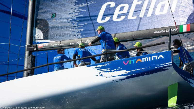 2018 Lanzarote Melges 40 Grand Prix - Andrea Lacorte, VITAMINA CETILAR photo copyright Melges 40 / Barracuda Communication taken at  and featuring the Melges 40 class