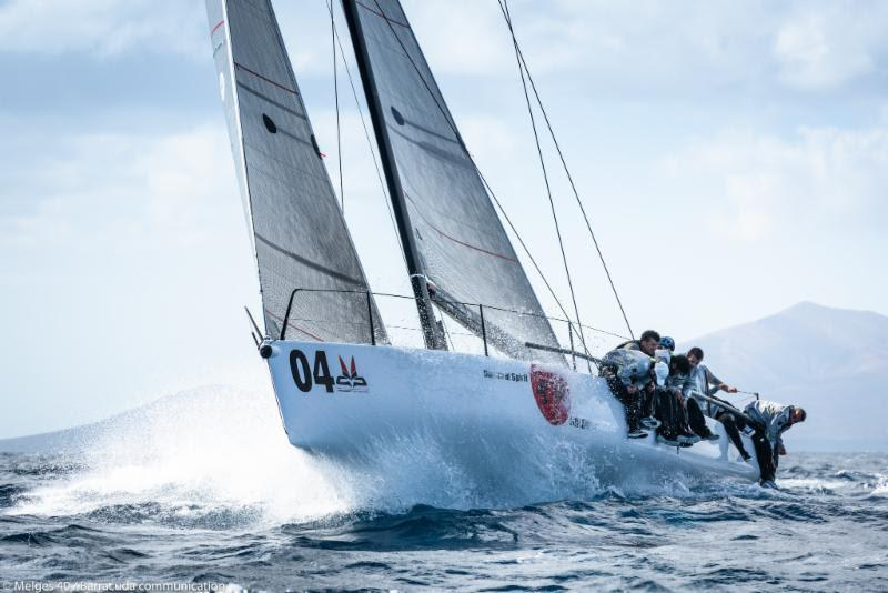 2018 Lanzarote Melges 40 Grand Prix photo copyright Melges 40 / Barracuda Communication taken at  and featuring the Melges 40 class