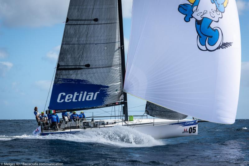 2018 Lanzarote Melges 40 Grand Prix - Andrea Lacorte, VITAMINA CETILAR - photo © Melges 40 / Barracuda Communication