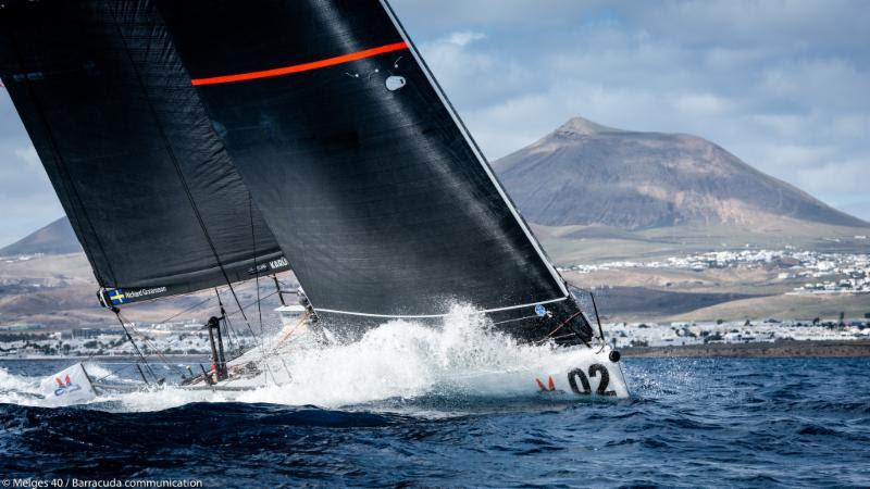 2018 Lanzarote Melges 40 Grand Prix - Richard Goransson, INGA - photo © Melges 40 / Barracuda Communication