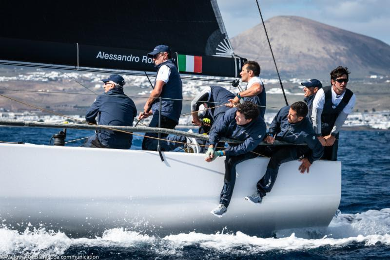 2018 Lanzarote Melges 40 Grand Prix - photo © Melges 40 / Barracuda Communication