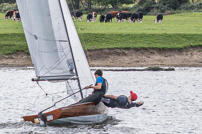 Alex Jackson and Arthur Henderson win the Upper Thames Merlin Rocket Open photo copyright Tony Ketley taken at Upper Thames Sailing Club and featuring the Merlin Rocket class