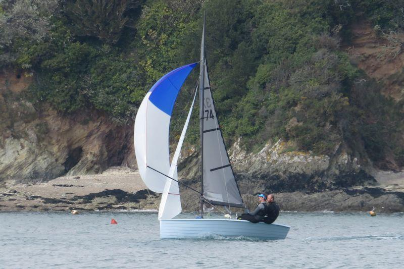 Merlin Rocket Craftinsure Silver Tiller open meeting at Salcombe photo copyright Helen Hilditch taken at Salcombe Yacht Club and featuring the Merlin Rocket class