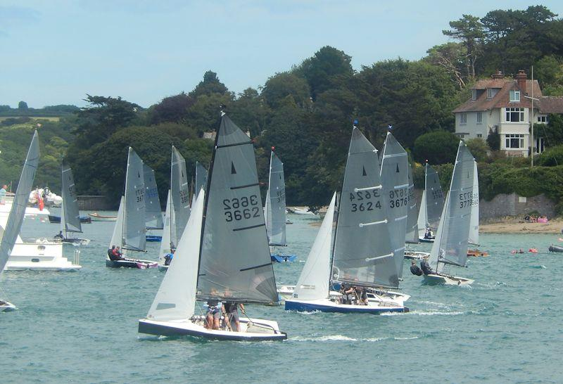 Salcombe Gin Merlin Rocket Week 2019 day 6 afternoon race - photo © Malcolm Mackley